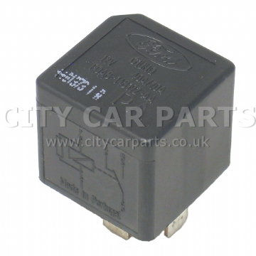 Ford 1995 To 2005 Multi -Use 5-Pin Black Relay F0AB-14B192-AA G1UHQ 12V 40A/20A